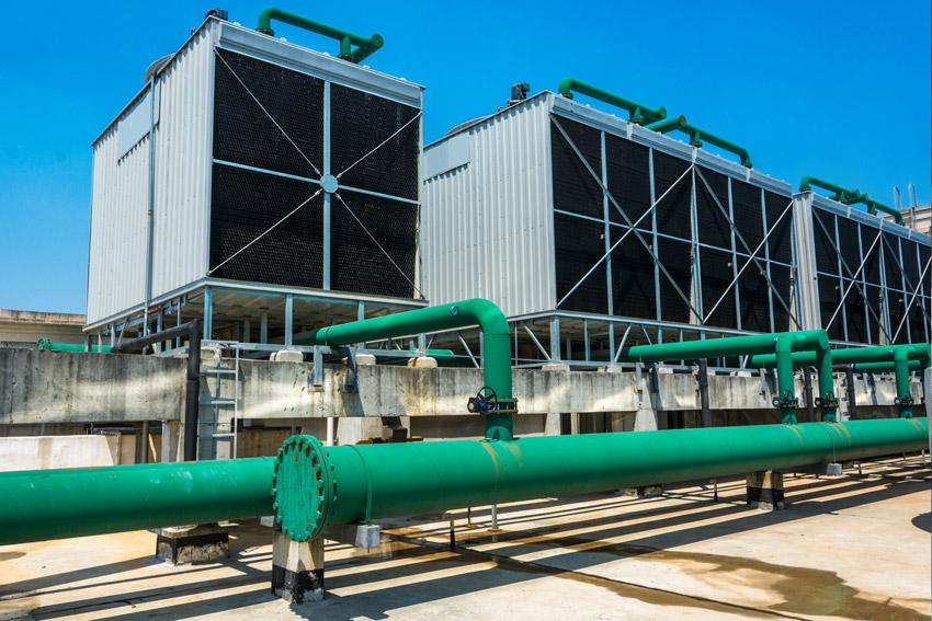 biocidas para torres de refrigeracion - torre cerrada
