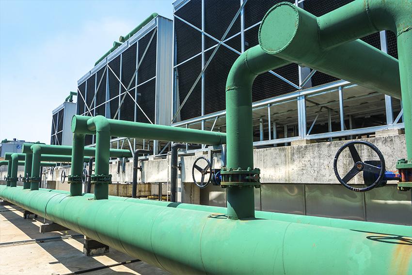 biocidas para torres de refrigeracion - torre mixta