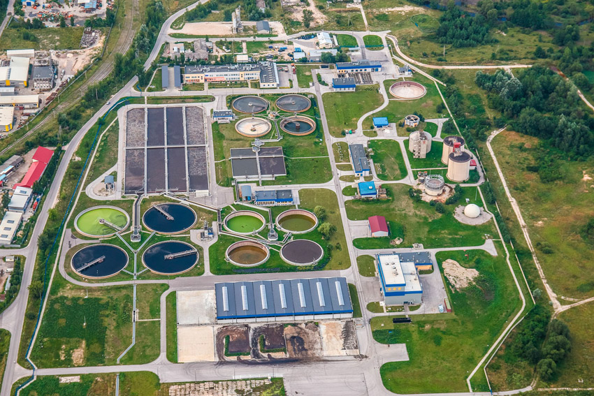 desinfeccion del agua - industria