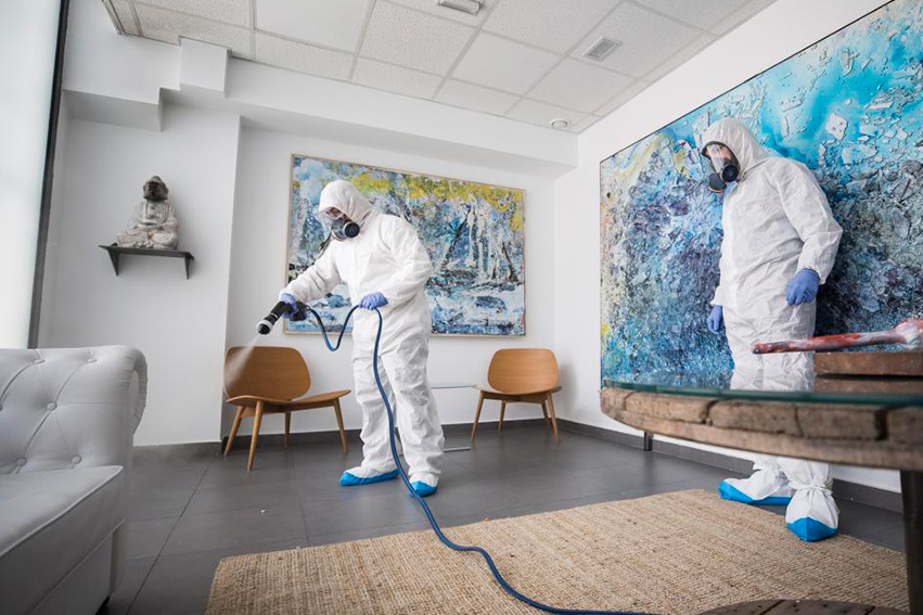 Pulverizadores desinfectantes - deco 2