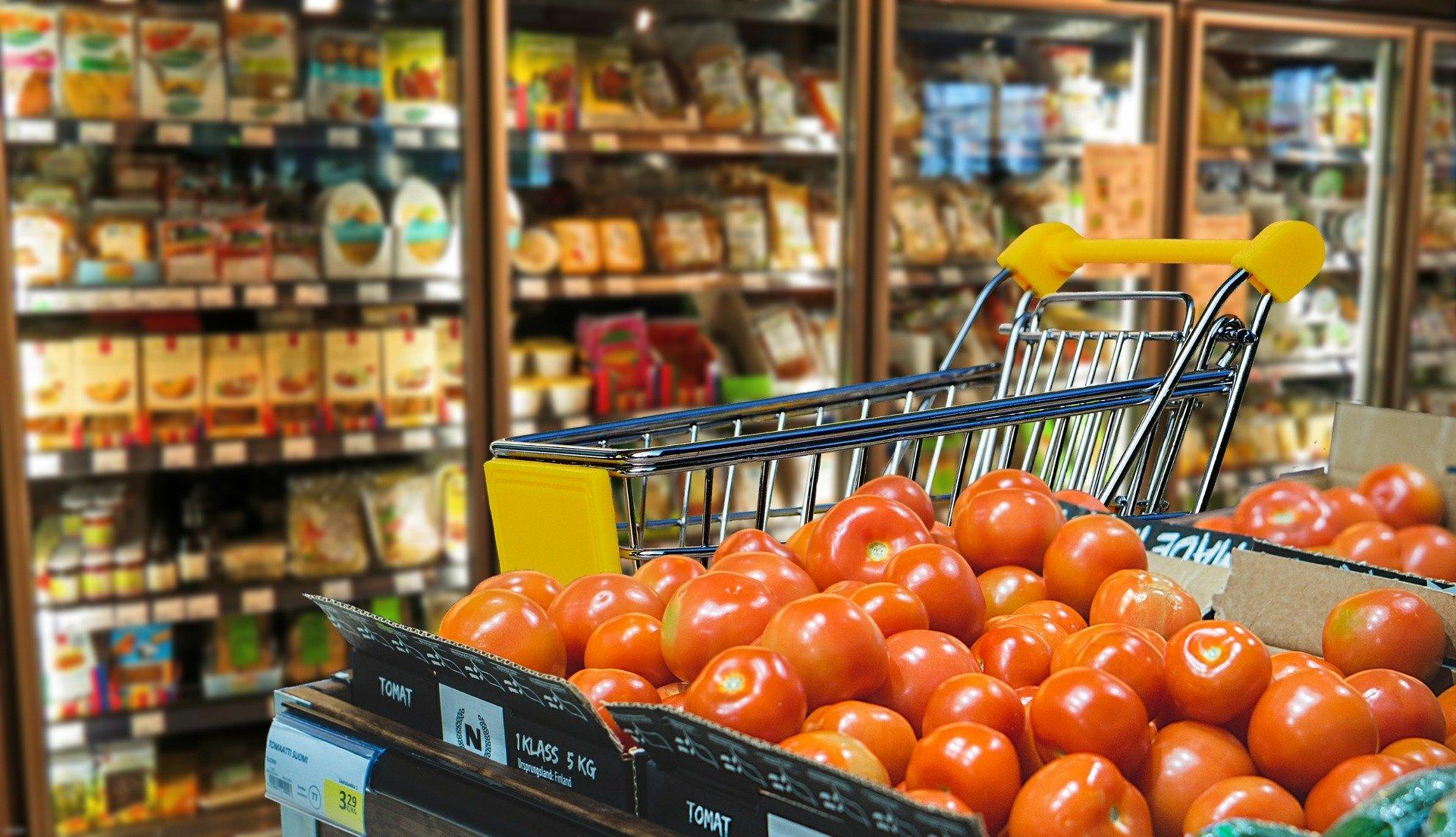 desinfectar supermercado - carrito