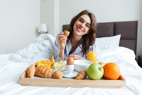 desinfección de hoteles - desayuno