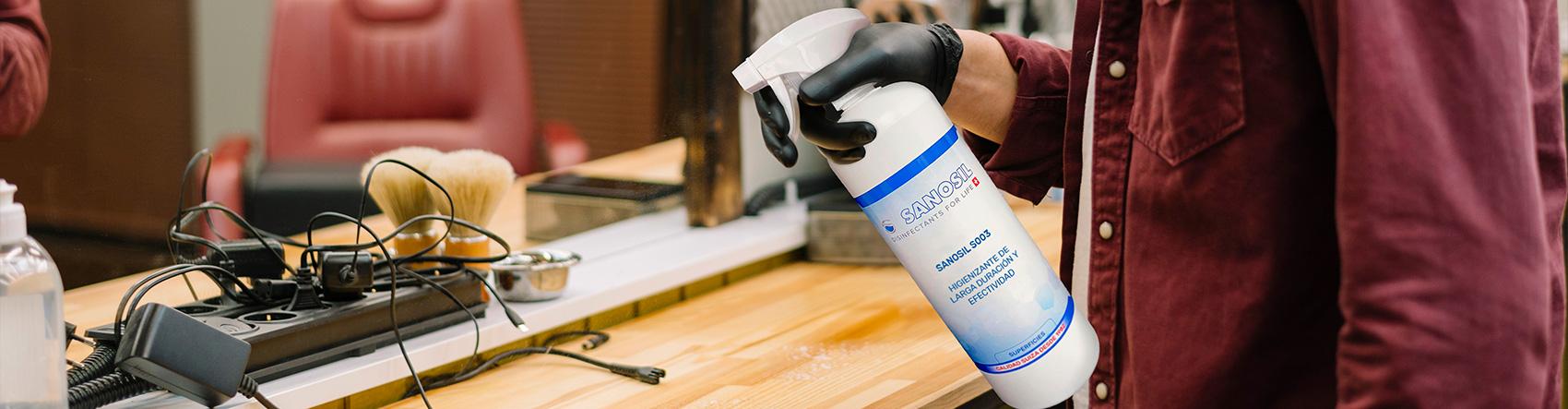 higienizante de superficies - slide