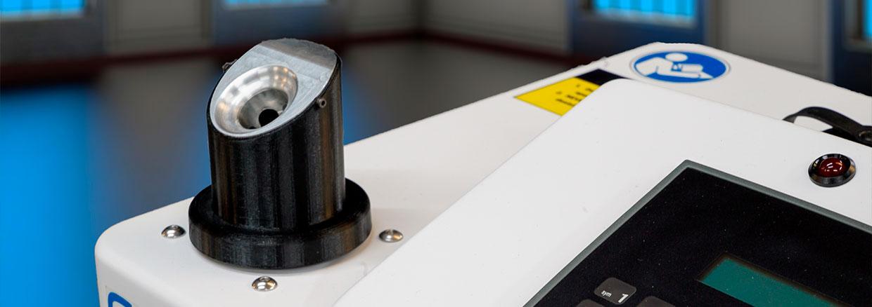 máquina desinfectante - slide